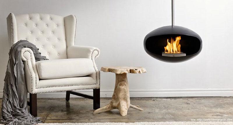 5 diseños de chimeneas realmente originales