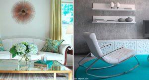 5 ideas para decorar tu casa en tonos verde y azul