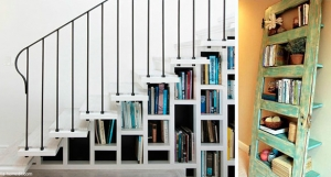 7 ideas originales para guardar libros en casa