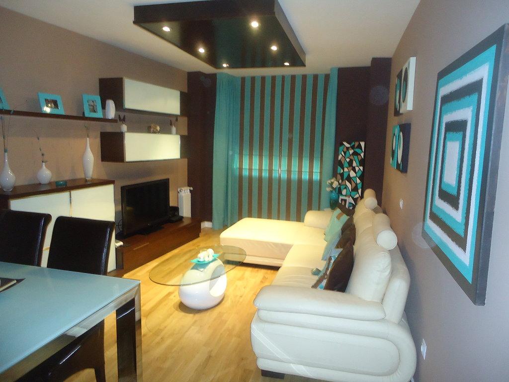 Pinturas veraniegas m s que casas - Decoracion de interiores en color azul turquesa ...