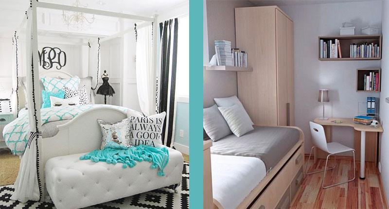 5 ideas para decorar habitaciones pequeñas